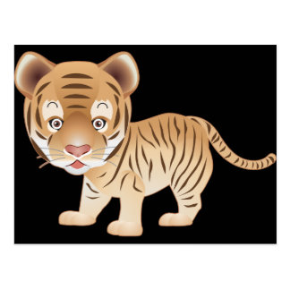 Baby Tiger Postcards