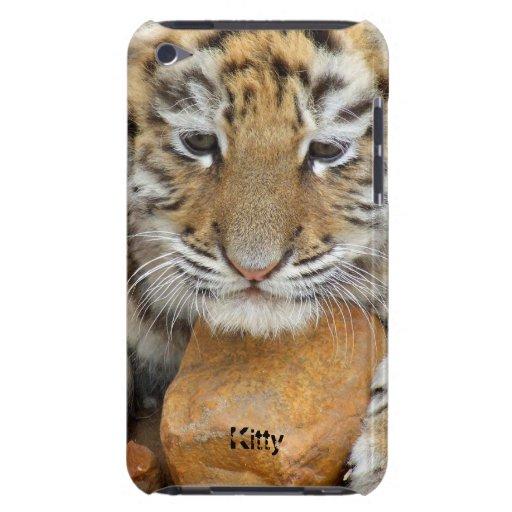 Baby tiger, wild cat iPod Case-Mate case