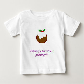 Baby/toddler christmas pudding t shirt