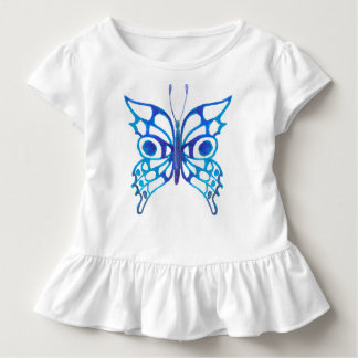 Baby Toddler Girl T-shirt Butterfly Design