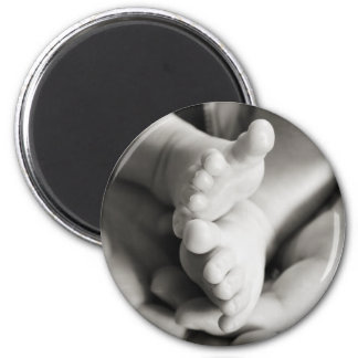 Baby Toes 6 Cm Round Magnet