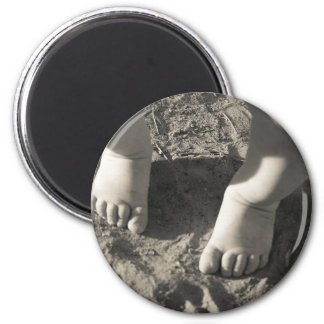 Baby Toes Refrigerator Magnets