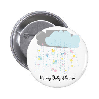 Baby Toy Shower Baby Shower Invitation Button