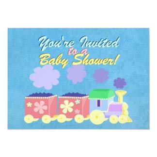Baby Train Baby Shower Invitation