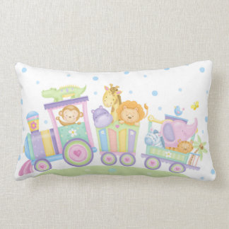 Baby Train Lumbar Pillow