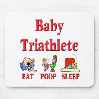 Baby Triathlete Mouse Pad
