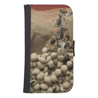 Baby Turtle Eggs Hatching Samsung S4 Wallet Case