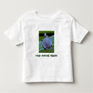 baby turtle, red-eared slider toddler T-Shirt