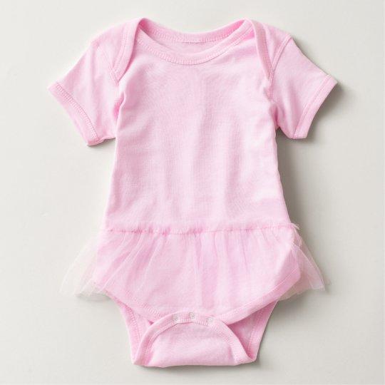 Tutu Bodysuit, Pink