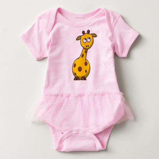 Baby Tutu Bodysuit - Giraffe