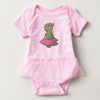 Baby Tutu Girl Dinosaur T-Rex Bodysuit