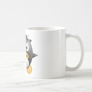 Baby Tux cow Coffee Mugs