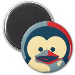 Baby Tux Linux 6 Cm Round Magnet