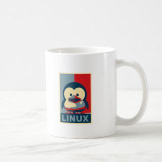 Baby Tux Linux Basic White Mug