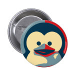 Baby Tux Linux Pinback Buttons