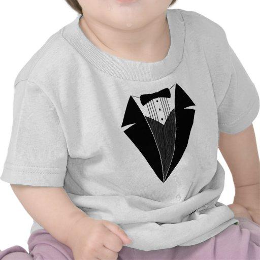 Baby Tuxedo, Black + White Tshirts
