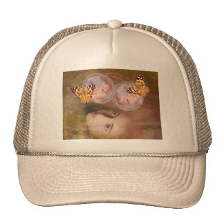 Baby twin boys or girls mesh hat