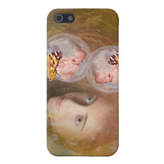 Baby twin boys or girls iPhone 5/5S cases