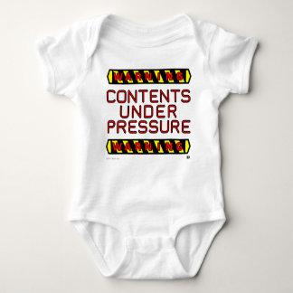 """Baby """"Under Pressure"""" Bodysuite Baby Bodysuit"""
