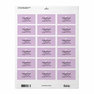 Baby Unicorn Customized Address Labels