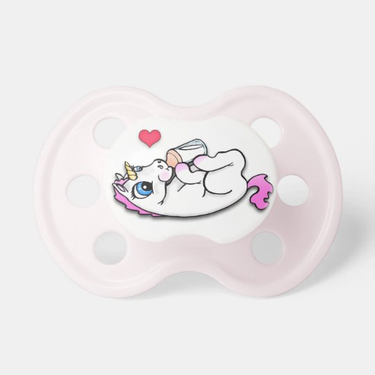 Baby unicorn feeding time - Pink Girl -