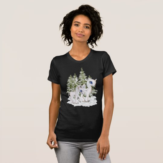Baby Unicorns in the Snow T-Shirt