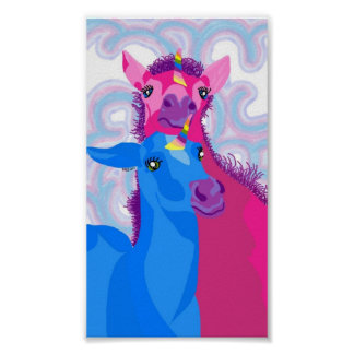 Baby Unicorns Poster