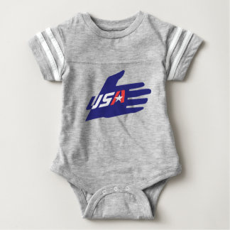 Baby USA Football Bodysuit