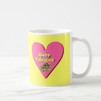 Baby Valentine T-shirts and Gifts Basic White Mug