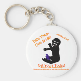 Baby Vamp, Only $19.95! Basic Round Button Key Ring