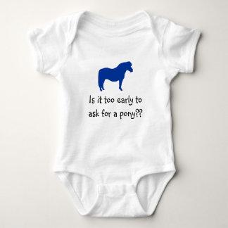 Baby Wants Pony Tee Shirt