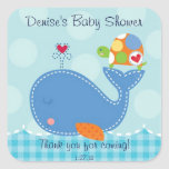 Baby Whale and Turtle Sticker
