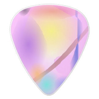 Baby White Delrin Guitar Pick