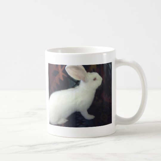 Baby White Flemish Giant Coffee Mug