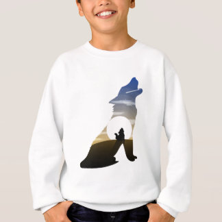 Baby wolf moon sweatshirt