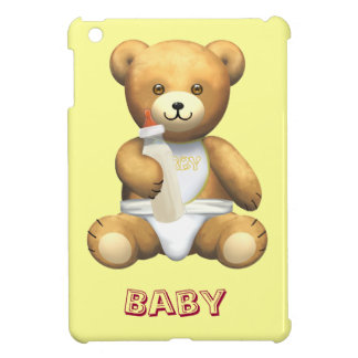 Baby yellow lemon Teddy Bear iPad Mini Cover