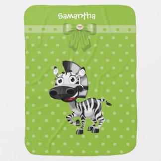 Baby Zebra Fleece Baby Blanket