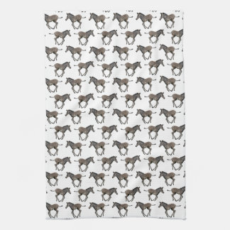 Baby Zebra Frenzy Kitchen Towel