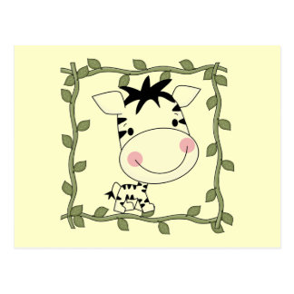 Baby Zebra T-shirts and Gifts Postcards