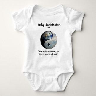 Baby ZenMaster say... (Personalize It!) Baby Bodysuit