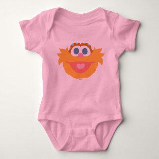 Baby Zoe Big Face Baby Bodysuit