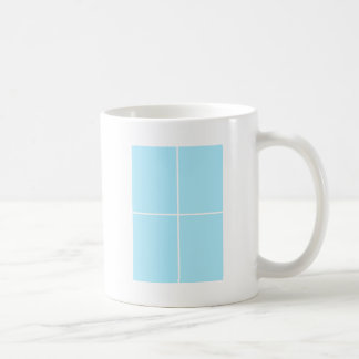 BABYblue Blanc BUY Blank or ADD TEXT n IMAGE love Basic White Mug