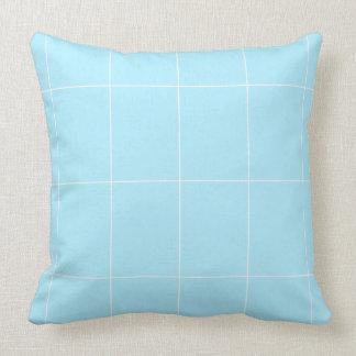 BABYblue Blanc BUY Blank or ADD TEXT n IMAGE love Throw Pillow