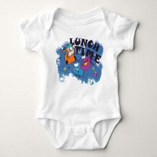 Babybody with Piranhas motive Lunch time T-shirts