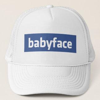 babyface funny social networking parody trucker hat