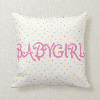 Babygirl pillow