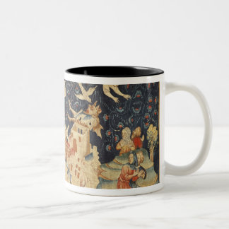 Babylon Invaded by Demons Two-Tone Coffee Mug