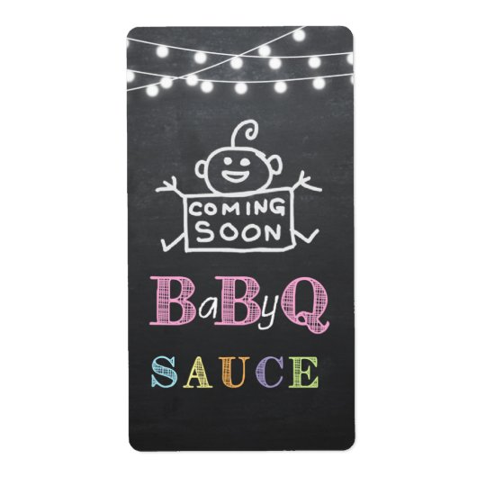 babyq sauce label / babyq sticker
