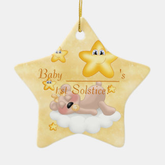 Baby's1st Solstice Ornament