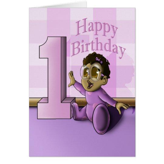 Baby's 1st Birthday Card
